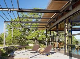 Contemporary Retractable Awnings Retractable Awning Exterior Industrial With Balcony Corten