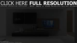 living modern black entertainment center glass wall unit tv
