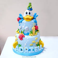 duck cake donald duck cake for adriel chocolique