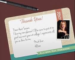 graduation thank you notes printed thank you notes grad photo thank you cards graduation