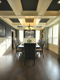 What Is A Coffered Ceiling by Dining Room Coffered Ceiling Houzz