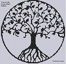 tree of cross stitch pattern ebook bee