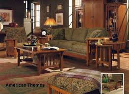 Mission Style Living Room Set Mission Oak Living Room Design Oak Living Room Set