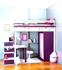 chambre fille avec lit superposé idaces de chambre pour deux et trois enfants chambre enfant