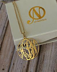 gold monogram onecklace monogram necklace review
