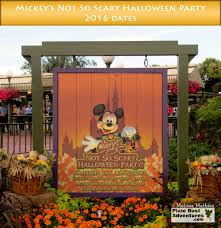 scary halloween party mickey u0027s not so scary halloween party dates u2013 2016 pixie pointers