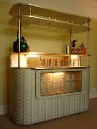 Bar Home Design Modern Suspended Glass Shelves In Bar Image Google Search Bar
