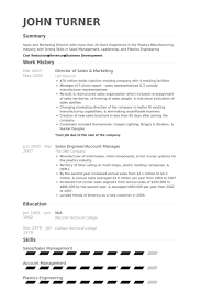Sales Resume Examples by Director Of Sales U0026 Marketing Resume Samples Visualcv Resume