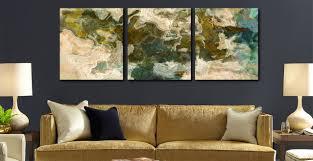 contemporary abstract art home decor