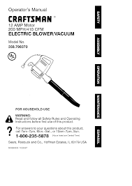 craftsman yard vacuum manual best yard design ideas 2017