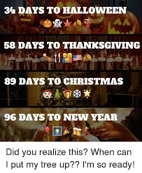 34 days to 58 days to thanksgiving 89 days to