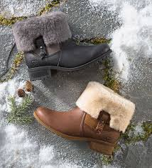 womens ugg boots with heel ugg s chyler boot boots cozy sheepskin low heel total