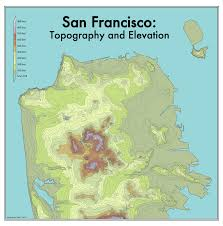 San Francisco Neighborhood Map by The Steepest Streets In San Francisco