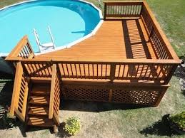 how to build a deck around a pool youtube