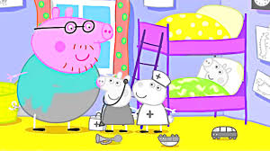 learn colors peppa pig at the dentist with doctor elephant