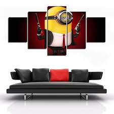 Paintings For Living Room Aliexpress Com Buy Animation Sell 5 Panel Abstract Paintings