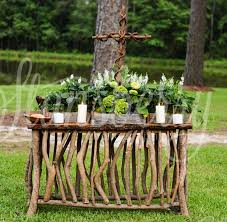 Rustic Table Ls Rustic Wedding Communion Table Wedding Ideas For Brides
