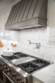 Subway Tile Backsplash Ideas For The Kitchen Best 25 Kitchen Range Hoods Ideas On Pinterest Kitchen Hood