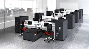 Benching Systems And Open Plan Available At Office Furniture - Open office furniture
