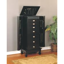 furniture beautiful black jewelry armoire for home furniture