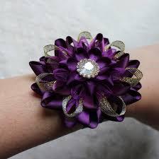 bridesmaid corsage purple wedding flowers purple and gold wedding corsage purple