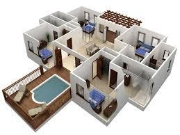 Autocad 3d House Plans Homes Zone Autocad 3d House Plans