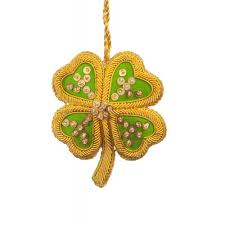 leaf clover ornament