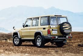 toyota makes toyota re makes original land cruiser 70 for one year in japan w