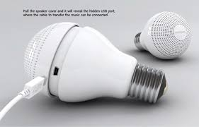 switch your socket replace light bulbs with music players
