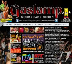 gaslamp music bar kitchen