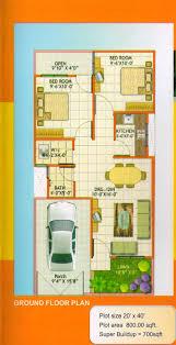 20 x 40 home plan planskill 9 plush x40 plans home pattern