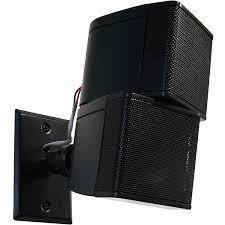 Speaker Wall Mounts Universal Wall Or Ceiling Speaker Mount Pinpointmounts Com