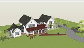gable roof house plans birds eye double gable roof form dominates design building plans