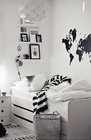 Black And White Boys Bedroom