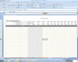 Grade Book Template Excel Gradebook Etsy
