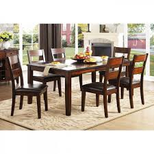 Cherry Dining Room Badcock More Mantello 5 Pc Cherry Dining Room