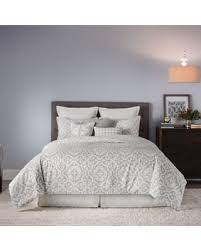 Queen Comforter Sets On Sale Here U0027s A Great Price On Real Simple Irving Reversible Full Queen