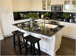 Black Countertop Kitchen - the texas trailer transformation mobile and manufactured home