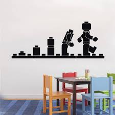 lego wall art decals color the walls of your house lego wall art decals details about lego evolution decal wall sticker home decor art vinyl