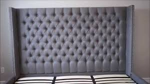 Tufted Headboard King How To Make A Tufted Headboard King Modern House Design How To