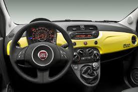 Fiat 500 Interior Inside The New Fiat 500 Fiat 500 Usa