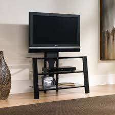 Sauder Tv Stands And Cabinets Mirage Panel Tv Stand With Mount 411972 Sauder