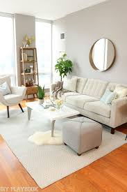simple livingroom condo makeover source list quality furniture city and