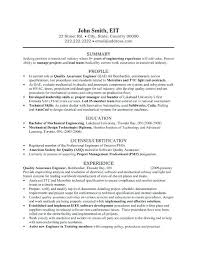 experience resume for production engineer experienced mechanical engineer resume u2013 foodcity me
