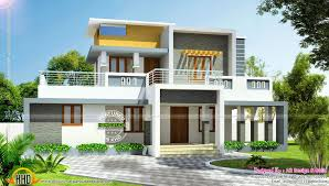 modern home design and build 3 bedroom contemporary house plans kerala lovely contemporary house