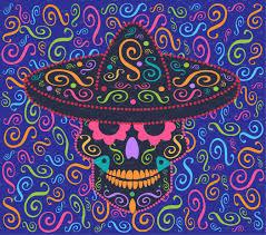 mexican ornament skull icon graphics creative market