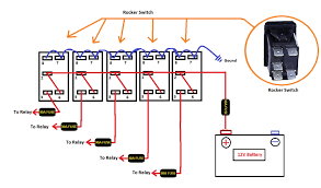 light with 3 wire rocker switch wiring diagram wiring diagrams