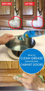how to clean tough grease on kitchen cabinets how to clean grease from kitchen cabinet doors in 2020