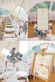 a romantic wedding at chaucer barn with a blue origami cranes