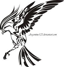 tribal pidgeot tattoo by newtoniannocturn on deviantart
